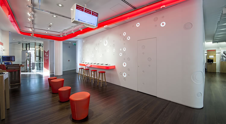 Casa sicetres for Vodafone oficinas barcelona